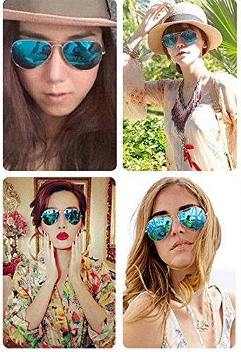 Película Aviator Sol Deslumbrantes de Skyeye C la de Sol Lady de Gafas de Gafas Color xnIwaqP