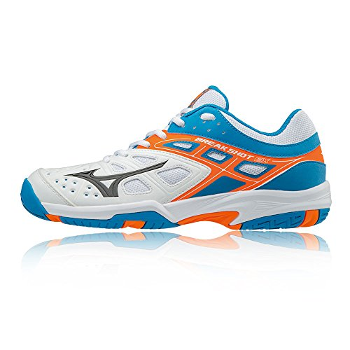 Chaussure Tennis Ex Shot All Court Ss18 Blue De Break Mizuno pOwSqRa