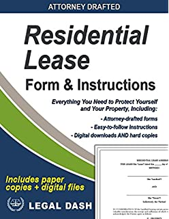 residential lease form comes with instructions faqs checklist and digital downloads