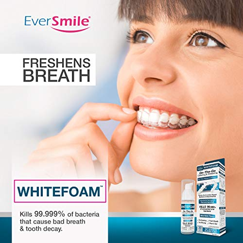 WhiteFoam On-the-Go Clear Retainer Cleaner for Invisalign