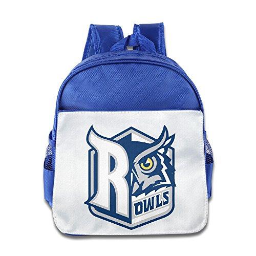 (University Rice Owls Toddler Kids Shoulder School Bag RoyalBlue)