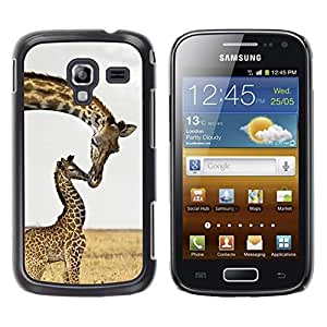LECELL--Funda protectora / Cubierta / Piel For Samsung Galaxy Ace 2 I8160 Ace II X S7560M -- Kiss Sweet Africa Baby Mother --