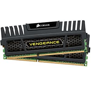 Corsair Vengeance 8 GB (2 x 4 GB) DDR3 1600 MHz PC3 12800 240-Pin DDR3 Dual Channel Memory Kit