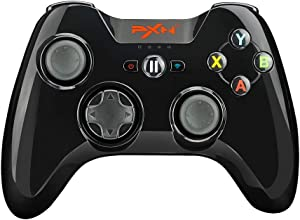 Mfi Game Controller for iPhone PXN Speedy(6603) iOS Gaming Controllers for Call of Duty Gamepad with Phone Clip for Apple TV, Ipad, iPhone (Black)