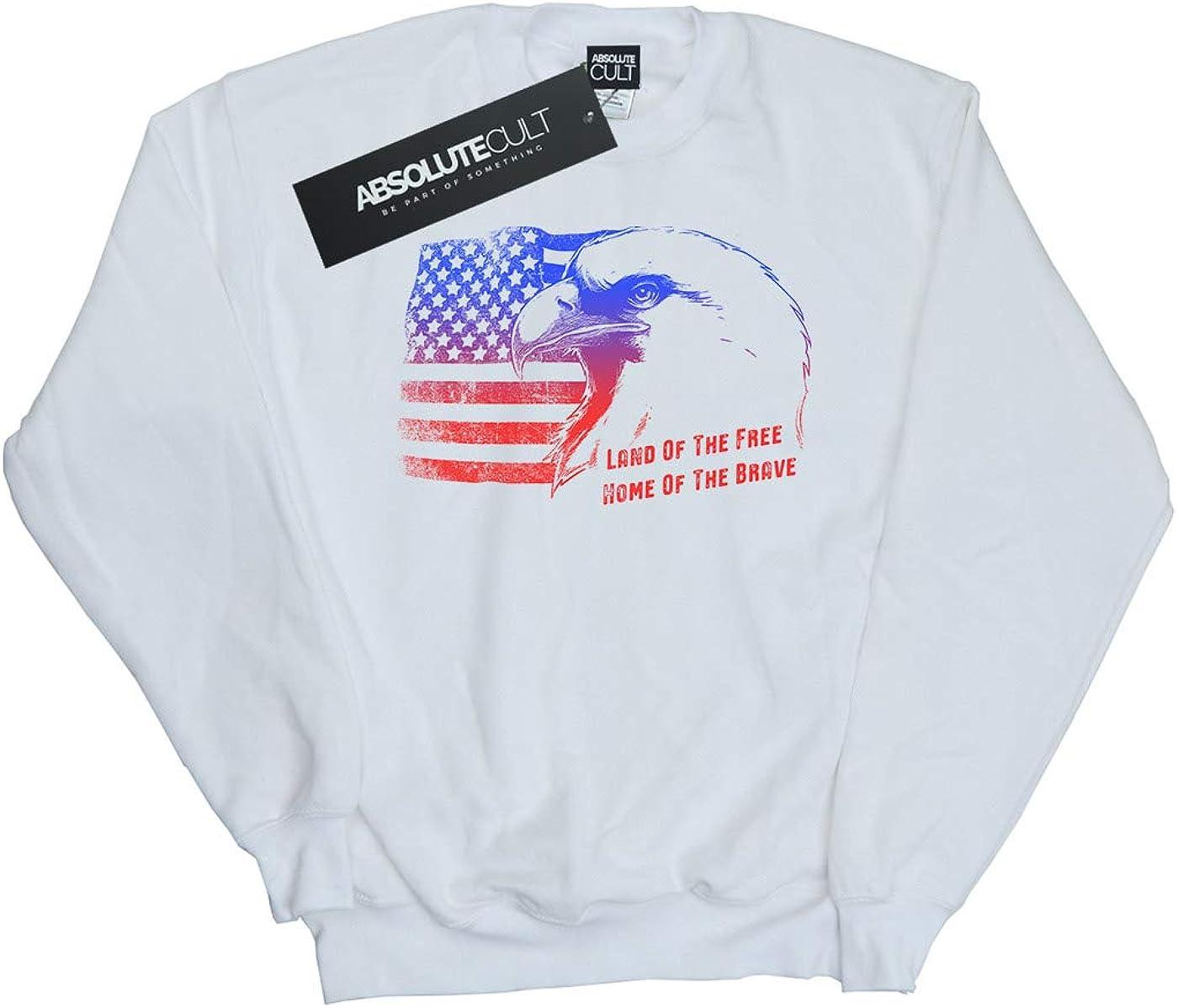 ABSOLUTECULT Drewbacca Girls American Dream Sweatshirt