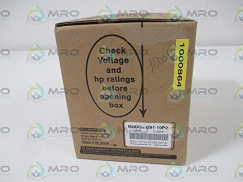 AUTOMATION DIRECT GS1-10P2 AC MICRO DRIVE 0.25 HP 120VFACTORY SEALED by Automation Direct