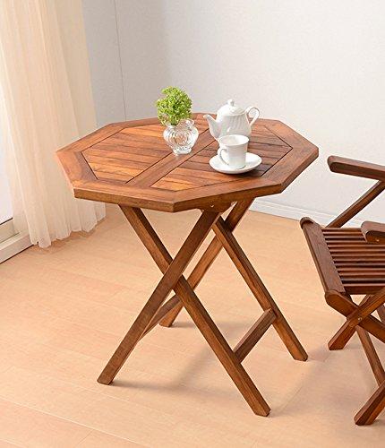 ガーデンテーブル テーブル ダイニングテーブル 幅70cm チーク材 正方形 アウトドア 木製 屋外 テラス 折りたたみ 軽量 コンパクト B07D67FY86 テーブル 幅70cm(正方形)  テーブル 幅70cm(正方形)