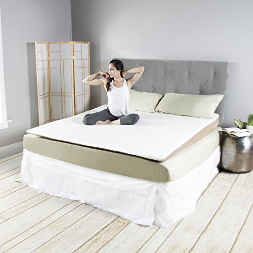 Avana Inclined Memory Foam Mattress Topper Wedge King