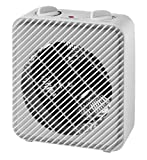 Mainstays Fan-Forced Heater with Safety Tip Over Switch in White