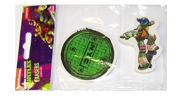 Amazon.com: Staples Teenage Mutant Ninja Turtle Set of 2 ...