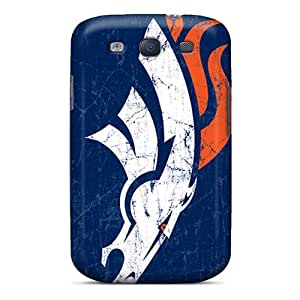 Premium Denver Broncos Back Cover Snap On Case For Galaxy S3