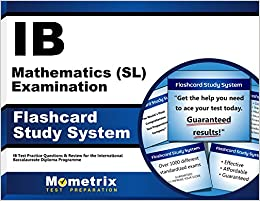 Ib mathematics sl examination flashcard study system ib test flip to back flip to front fandeluxe Image collections