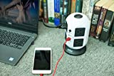 YCIND Tower Power Strip Surge Protector Extention