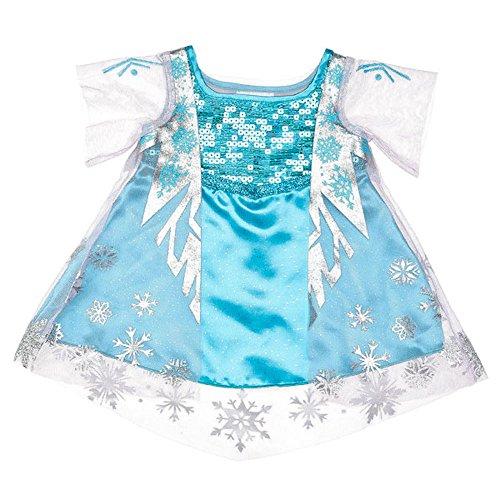 Build a Bear Frozen Elsa Costume Dress (Build A Bear Frozen Elsa)