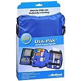Medicool Dia-Pak Deluxe - Diabetic Supply Organizer - Blue