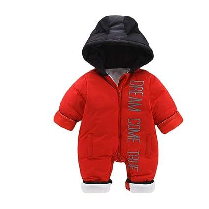 Chaqueta de abrigo para niños Invierno cálido bebé recién nacido ...
