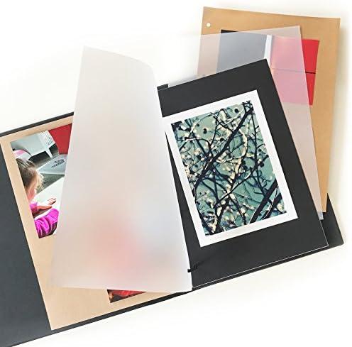 Caja de cartón negro cartón kraft DIN A4, 300 gr/m2 - Papel fotográfico (75 hojas/Papel fotográfico Para Manualidades DIY Scrapbooking gitano tarjetas boda invitación: Amazon.es: Oficina y papelería