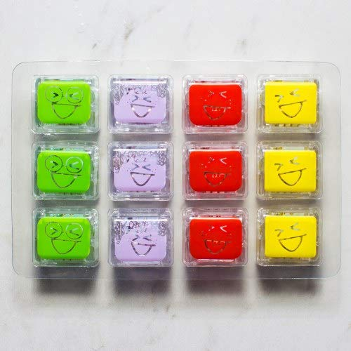 Glo Pals Light Up Water Cubes - Tray of 12