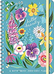 """Katie Daisy 2021 On-the-Go Weekly Planner: 17-Month Calendar with Pocket (Aug 2020 - Dec 2021, 5"""" x 7&quo"""
