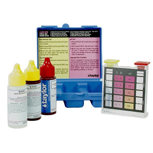 - Taylor K1001 Basic Residential DPD Pool or Spa Test Kit