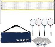 Triumph Competition Badminton Set with Steel Construction