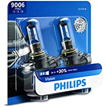 Philips 9006 Vision Upgrade Headlight Bulb, 2 Pack