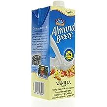 Blue Diamond Almond Breeze Milk, Vanilla, unsweetened,  32fl.oz- 6 Count