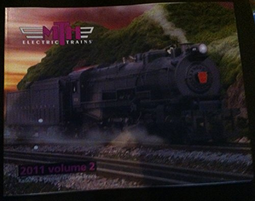 MTH Electric Trains 2011 Volume 2 catalog ~ RailKing & Premier O-Gauge Trains ~ Rail King M.T.H.