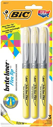 BIC Brite Liner Highlighters Yellow product image