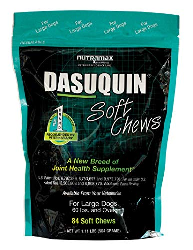 Nutramax Dasuquin Soft Chews, Large Dog, 84 Count