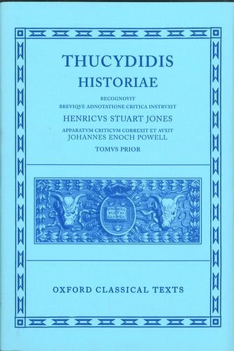 Historiae, Volume I (Oxford Classical Texts Series)
