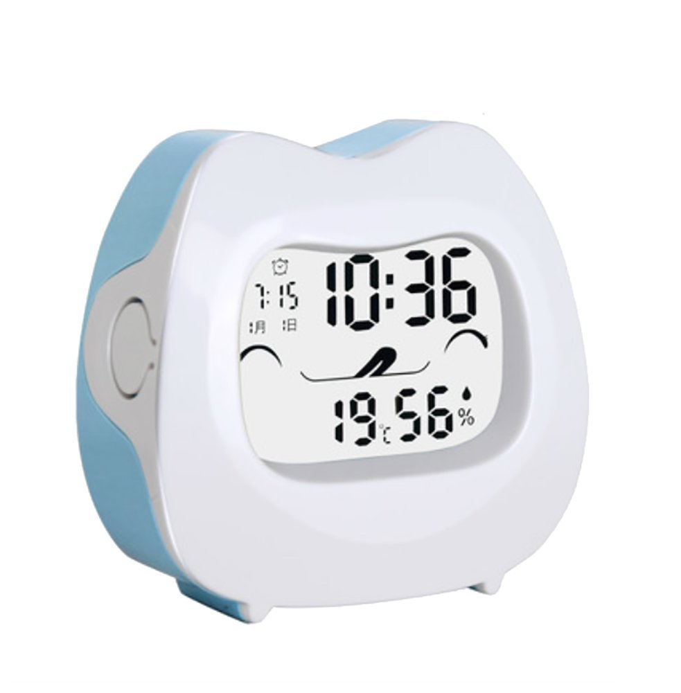 RUIX Thermo-Hygrometer Home With Backlight,Blue