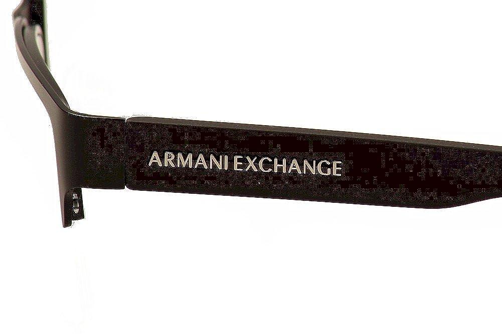 e505af8a6f8 Armani Exchange AX1014 Eyeglass Frames 6063-53 - Satin Black Matte Black  AX1014-6063-53  Amazon.in  Clothing   Accessories