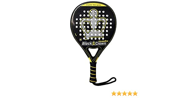 Pala de Pádel Piton 7.0 Soft - Black Crown