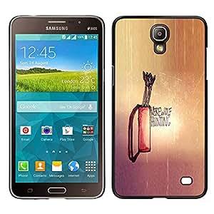 Stuss Case / Funda Carcasa protectora - Werewolf Hunting - Samsung Galaxy Mega 2