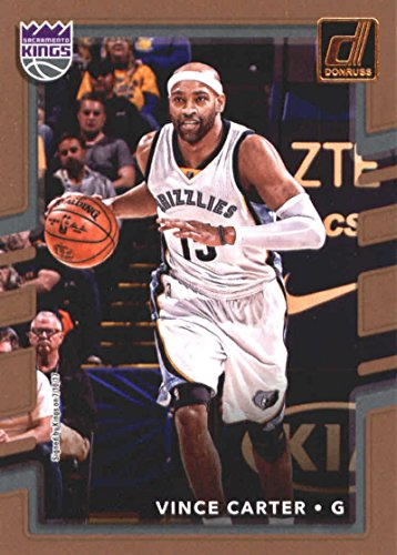 Basketball Vince Carter (Basketball NBA 2017-18 Donruss #126 Vince Carter Sac Kings)