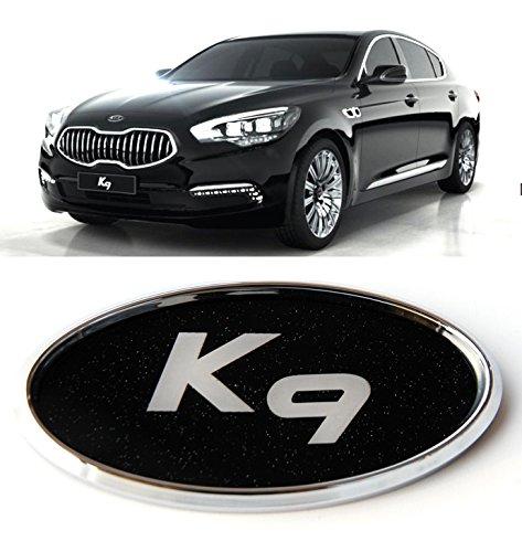 K9 Logo Front + Rear Chrome Mirror Emblem (Fit : KIA K900
