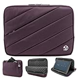 Padded Lining 10.1'' Tablet Sleeve Carrying Bag for Huawei/Chuwi/Amazon/Acer(Purple)