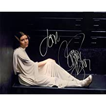Carrie Fisher reprint signed autographed Princess Leia Star Wars 8x10 photo #2 RP