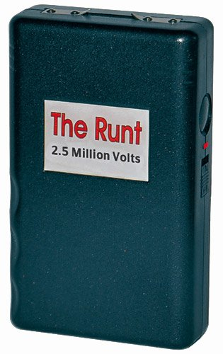 The Runt Stun Gun 2.5 Million Volt//Note: Stun Guns cannot be shipped to the following states: NY, MA, MI, NJ, RI, WI, IL, HI ,CT