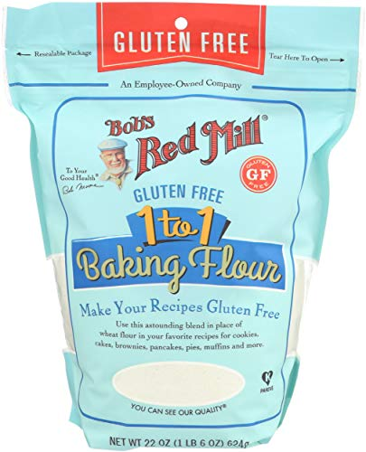 Bobs Red Mill, Baking Flour 1 To 1 Gluten Free, 22 Ounce All Purpose Baking Flour