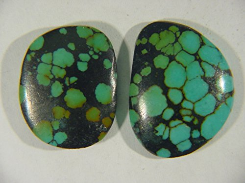 Genuine Natural Chinese Turquoise Lapidary Freeform Cabochon 9494C h