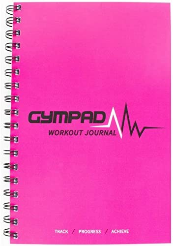 A Small Stylish Journal To Track Your Workouts /& Nutritional Intake GymPad Workout /& Nutrition Journal Designed And Created By Fitness Professionals