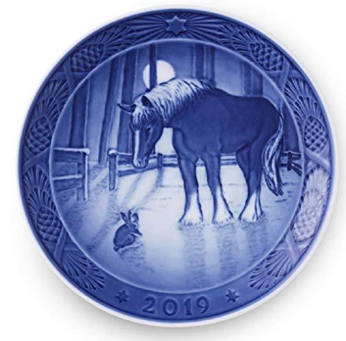 Royal Copenhagen 1027165 Collectible 2019 Christmas Plate