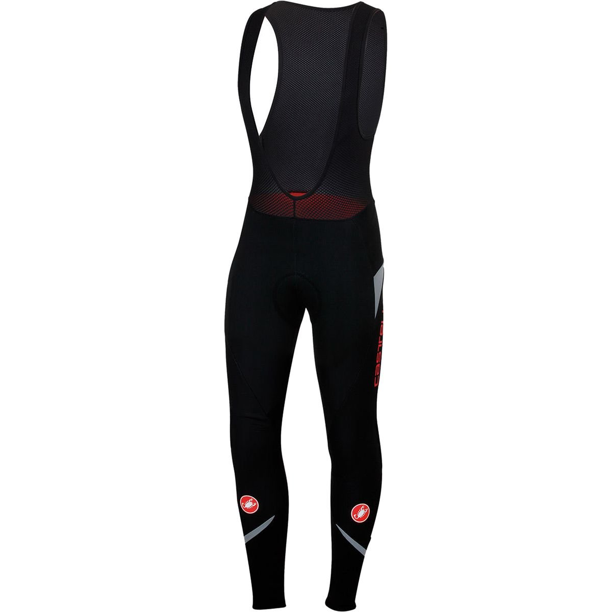 Castelli Polare 2 Bib Tight - Men's Black/Reflex, S by Castelli (Image #1)