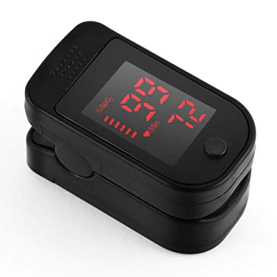 WI Fingertip Blood Oxygen Saturation Monitor with LED Screen Digital Readings Lightweight: Toys & Games [5Bkhe1400827]