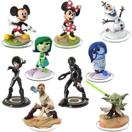 Disney Infinity 3.0 9 Character Pack (For 3ds Chess Nintendo Game)