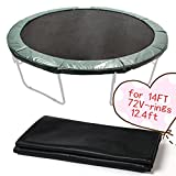 14' Replacement 72Ring Sports Fitness Round Trampoline Weatherproof Jumping Mat [US STOCK]