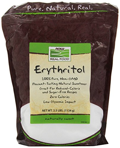 NOW Foods Erythritol,2.5-Pound
