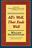 Image of All's Well, That Ends Well: Applause First Folio Editions (Folio Texts)